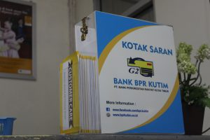 formulir saran costumer care bank bpr kutim